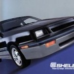 1987 Shelby CSX Poster