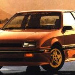 1989 Shelby CSX Poster